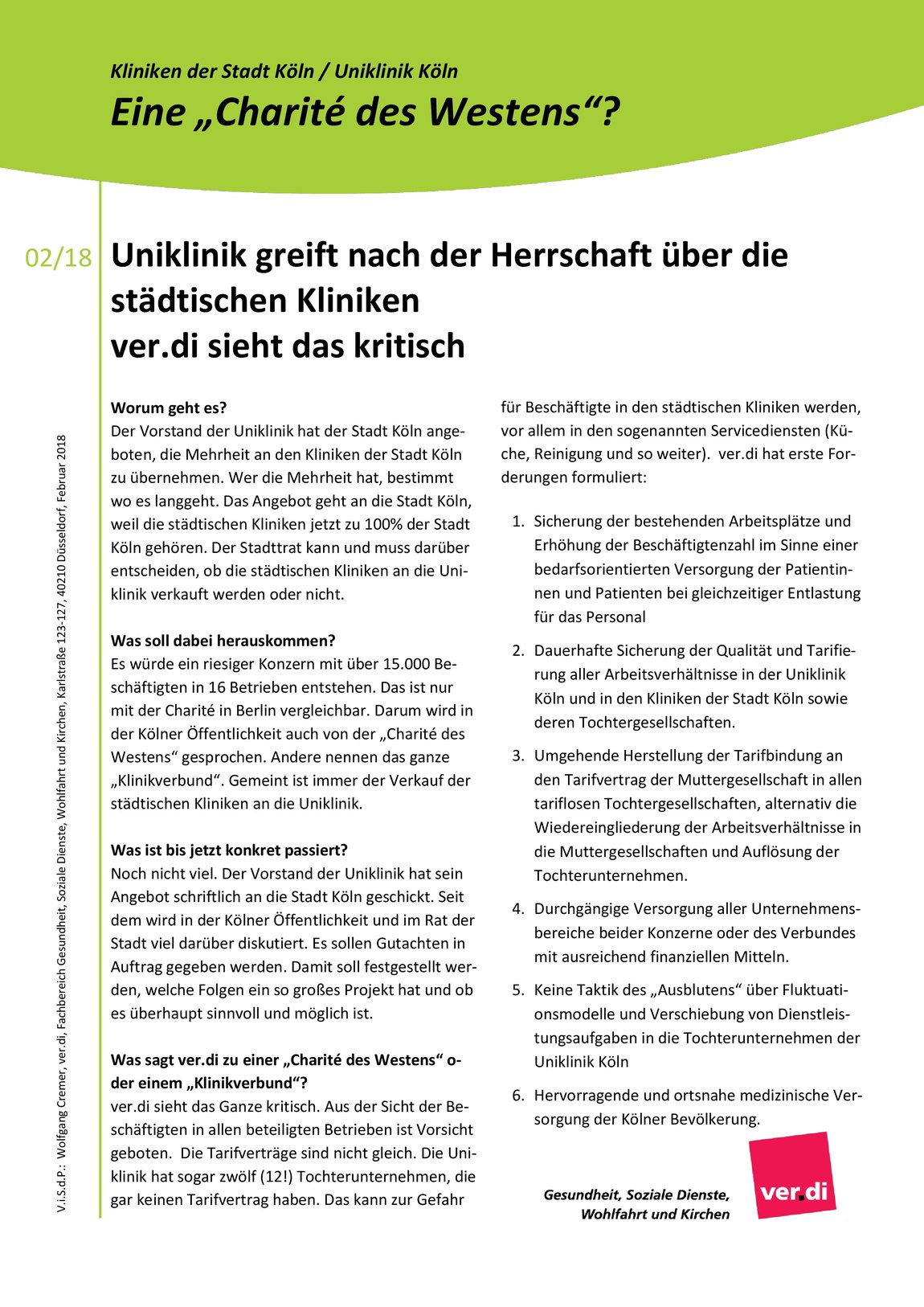 Verdi Flugblatt Klinikverbund Seite 2